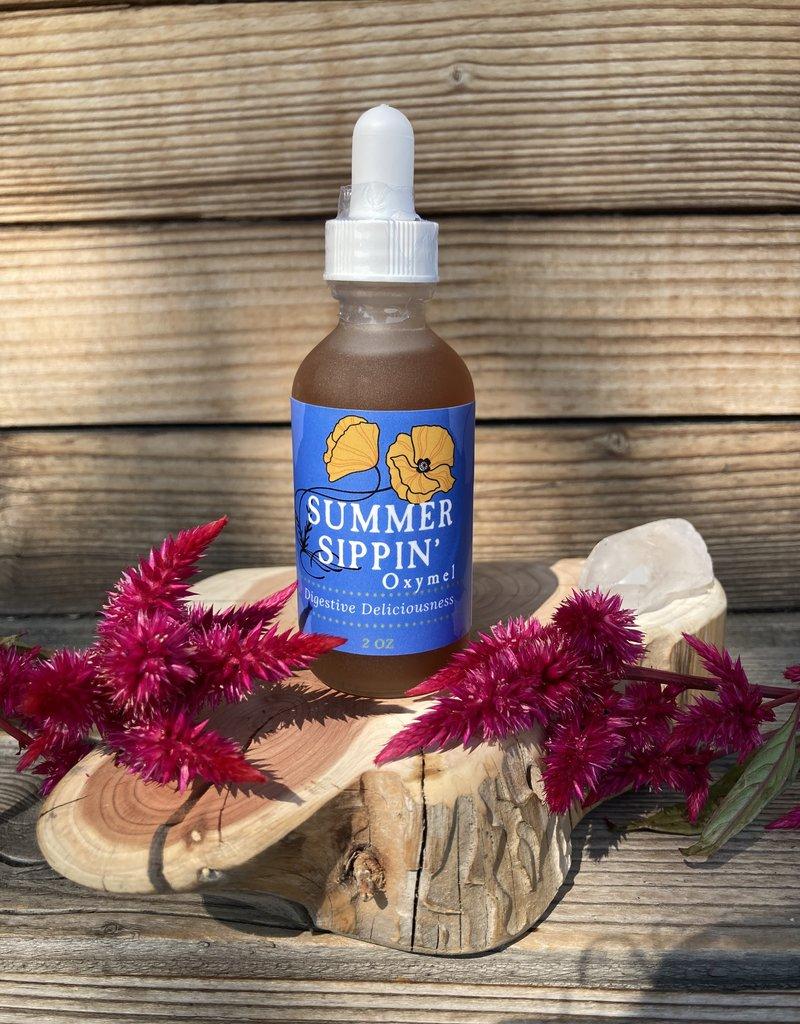Golden Poppy Herbs Summer Sippin' Oxymel
