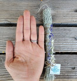 Floral Smudge Stick, organic Wildcat SMALL