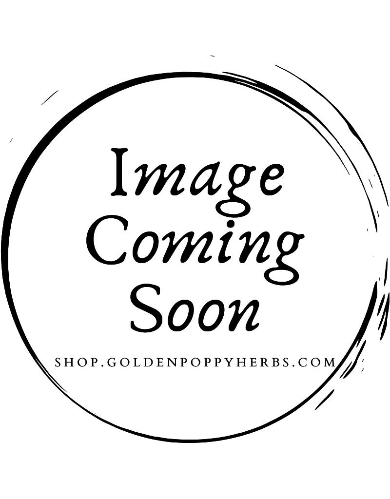 Golden Poppy Herbs Unakite Stone, round for roller