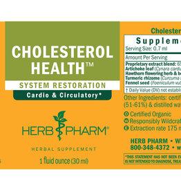 Herb Pharm Cholesterol Health, Liquid Extract (1 oz) - Herb Pharm