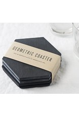 Brooklyn Slate Co Brooklyn Slate Co Geometric Coaster 4 Piece Set