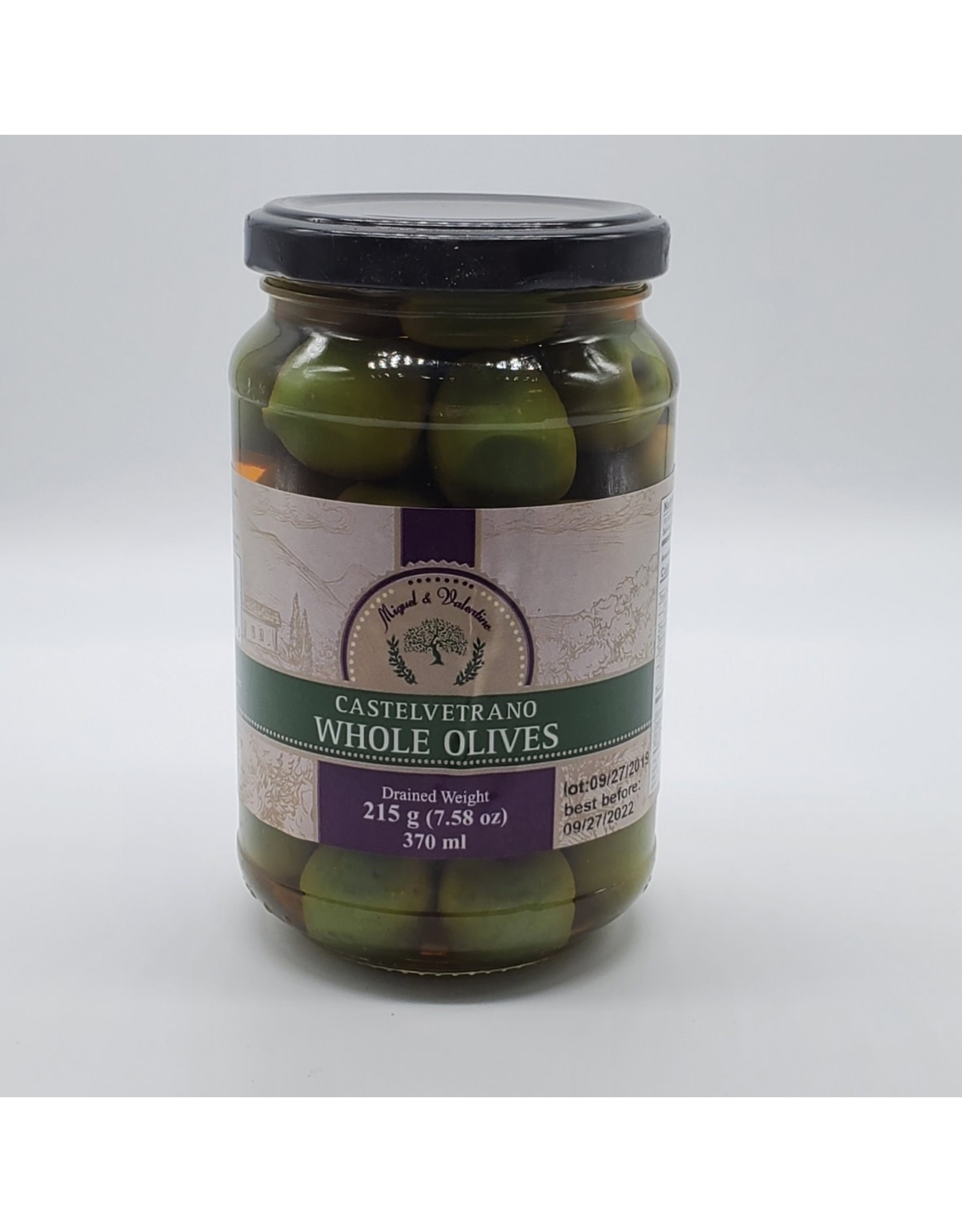 Miguel & Valentino Castelvetrano Pitted Olives
