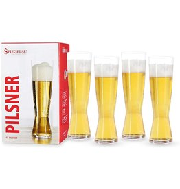 Spiegelau Spiegelau Pilsner Glasses 4 Pack