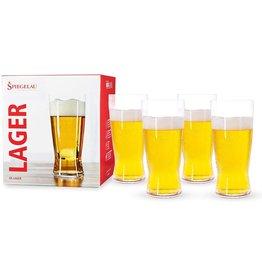 Spiegelau Spiegelau Lager Glasses 4 Pack