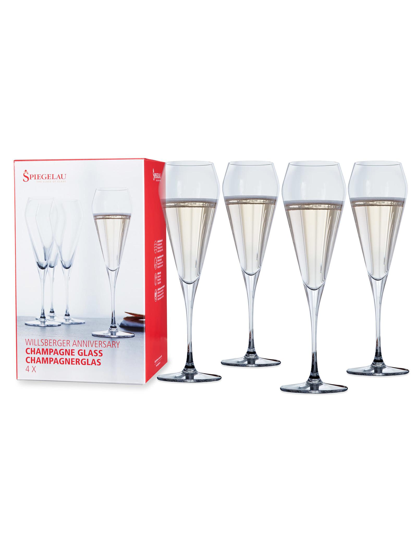 Spiegelau Spiegelau Wilsberger Champagne Glass 4 Pack