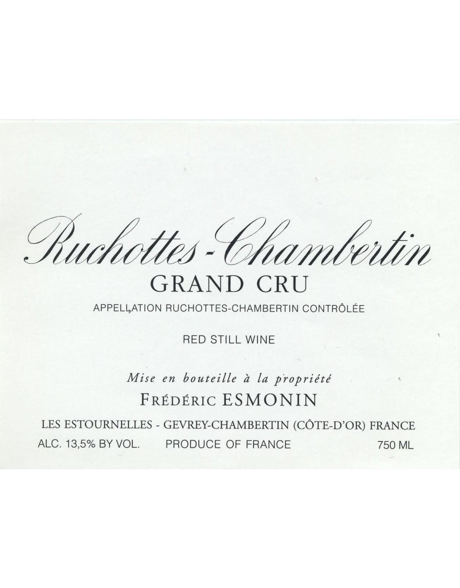 Frederic Esmonin Ruchottes-Chambertin Grand Cru, Burgundy 2017