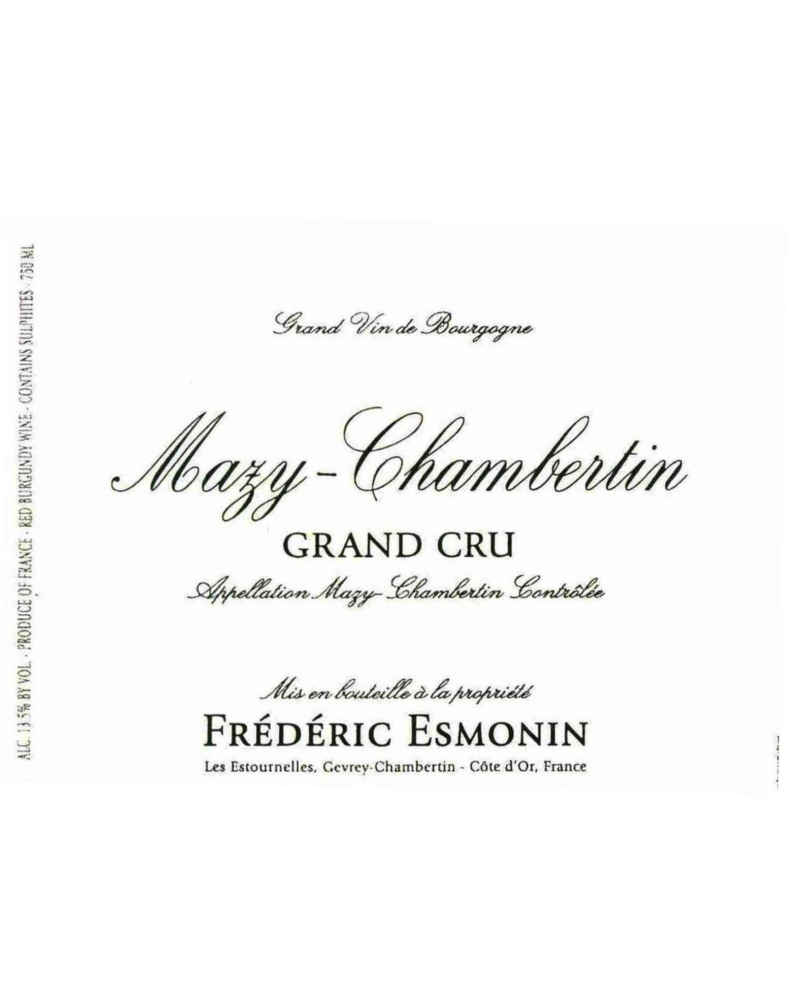 Frederic Esmonin Frederic Esmonin Mazy-Chambertin Grand Cru, Burgundy 2017