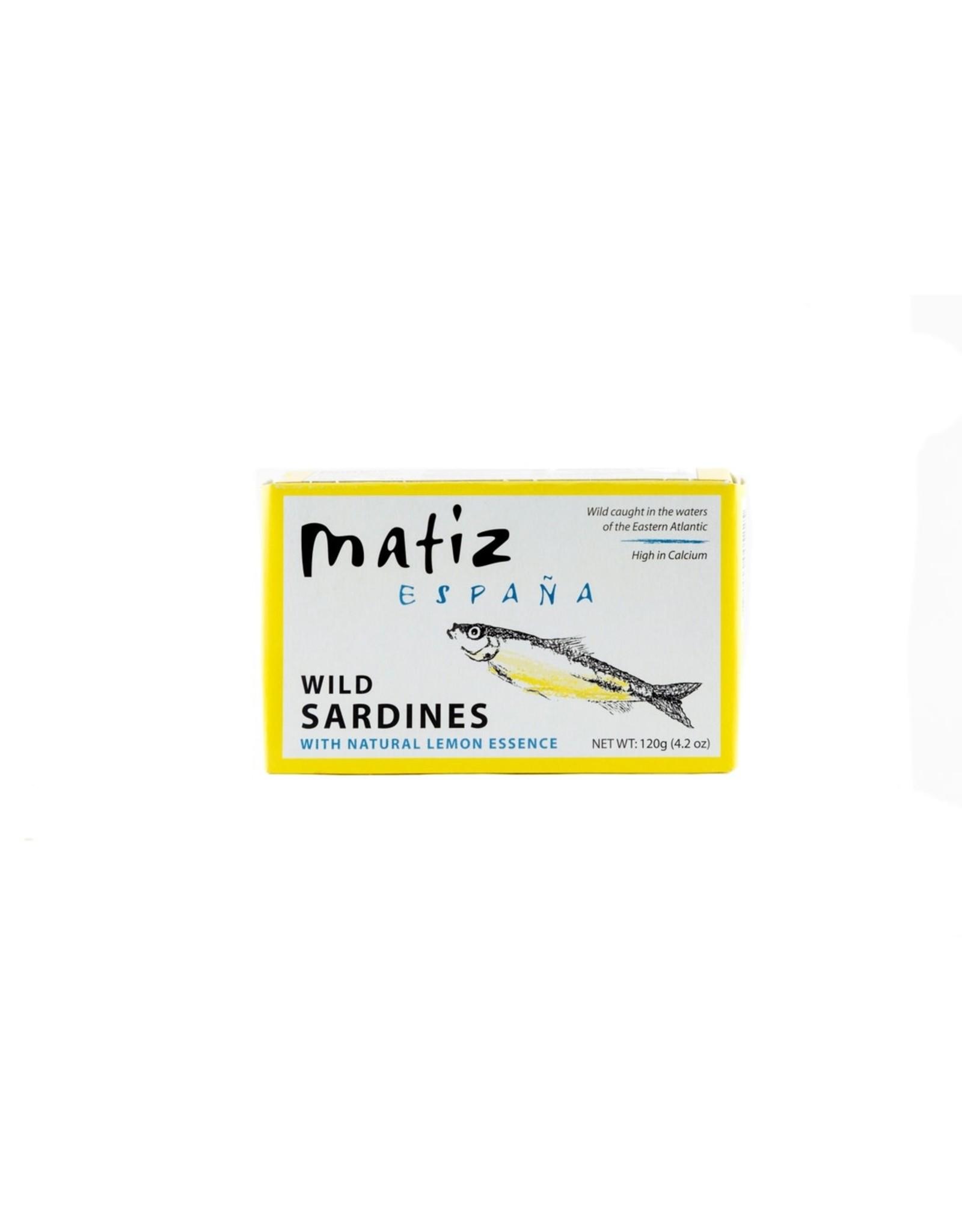 Matiz Matiz Wild Sardines in Lemon