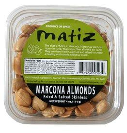 Matiz Matiz Marcona Almonds Fried Salted Tubs