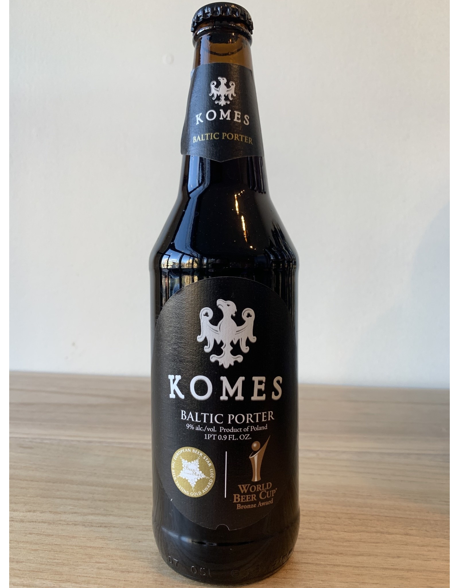Brewery Fortuna Komes Baltic Porter
