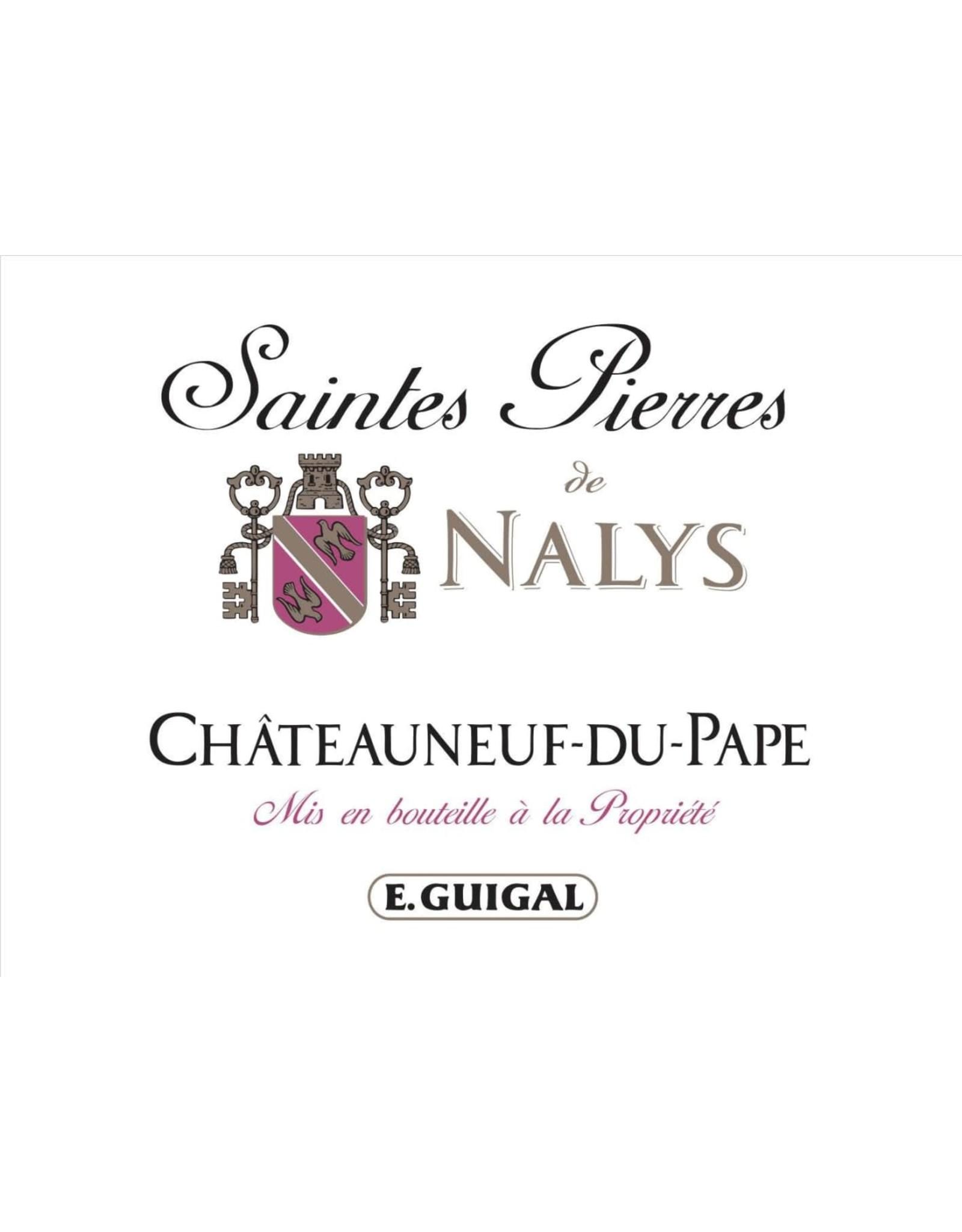 Chateau de Nalys Saintes Pierres de Nalys Chateauneuf-du-Pape Rouge 2016