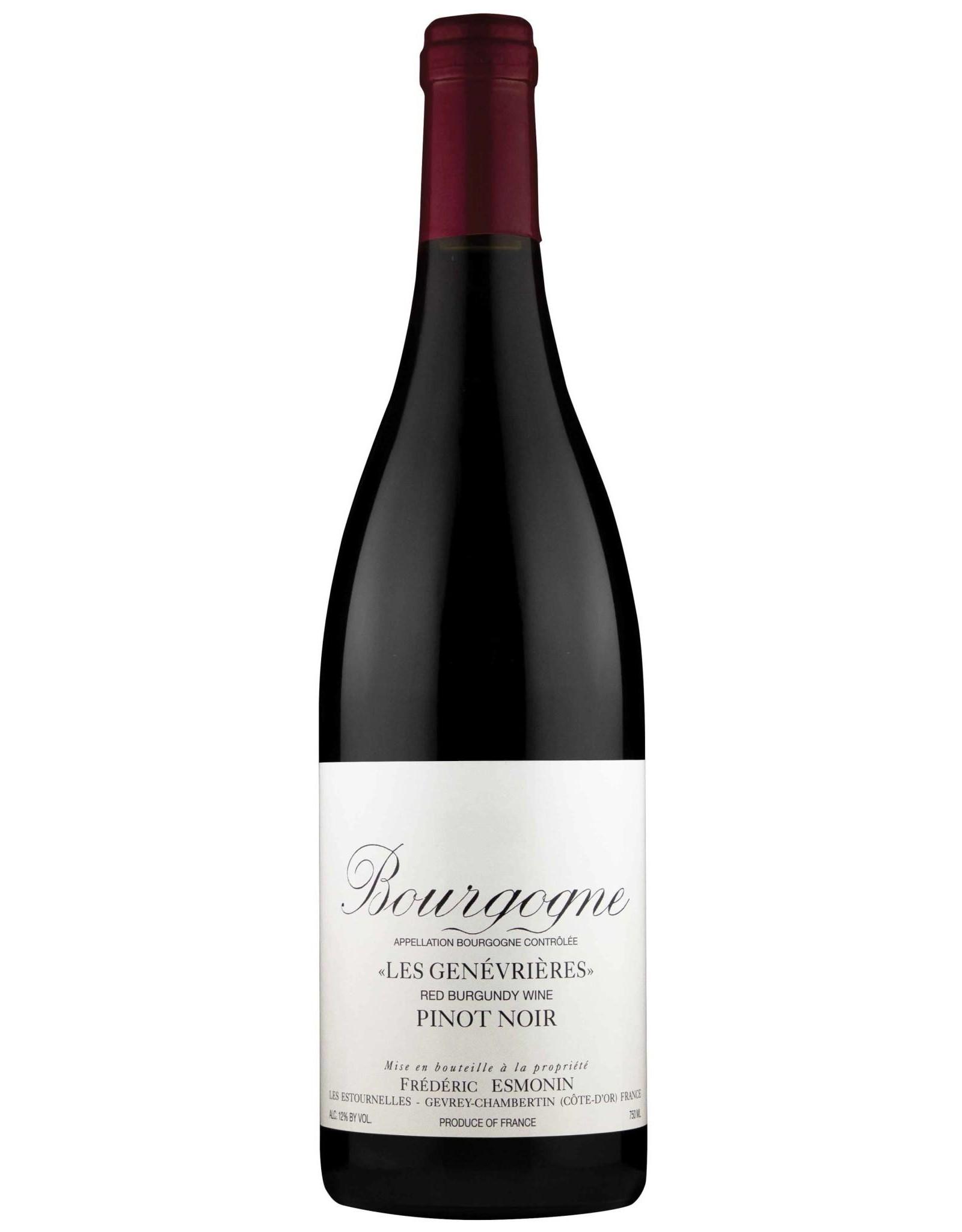 Frederic Esmonin Frederic Esmonin Les Genevrieres Bourgogne Pinot Noir 2019