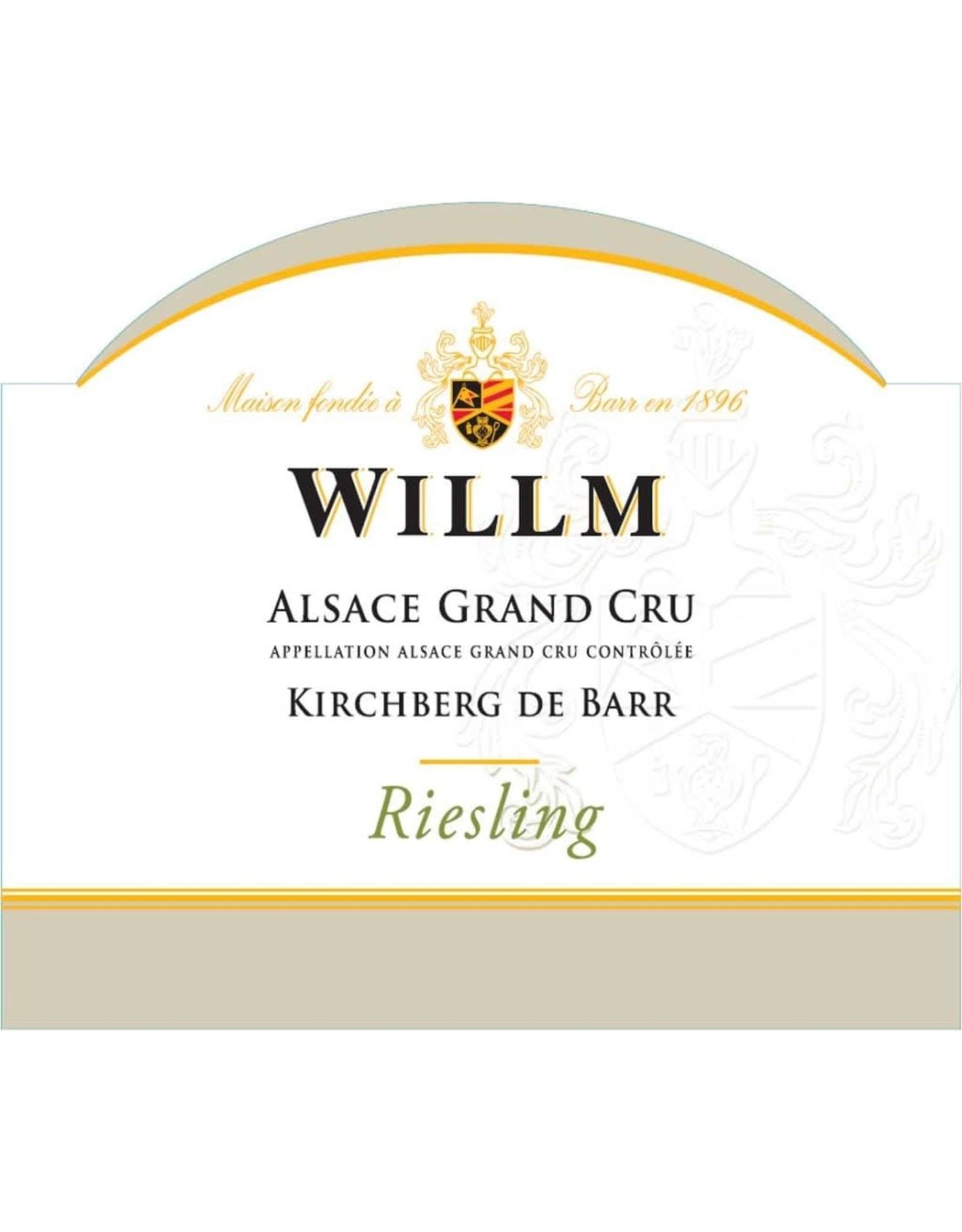 Willm Willm Kirchberg de Barr Riesling Grand Cru, Alsace 2016