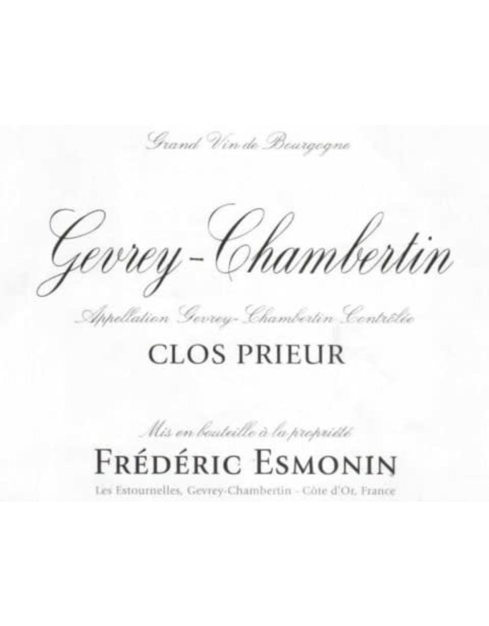 Frederic Esmonin Frederic Esmonin Clos Prieur Gevrey-Chambertin 2019