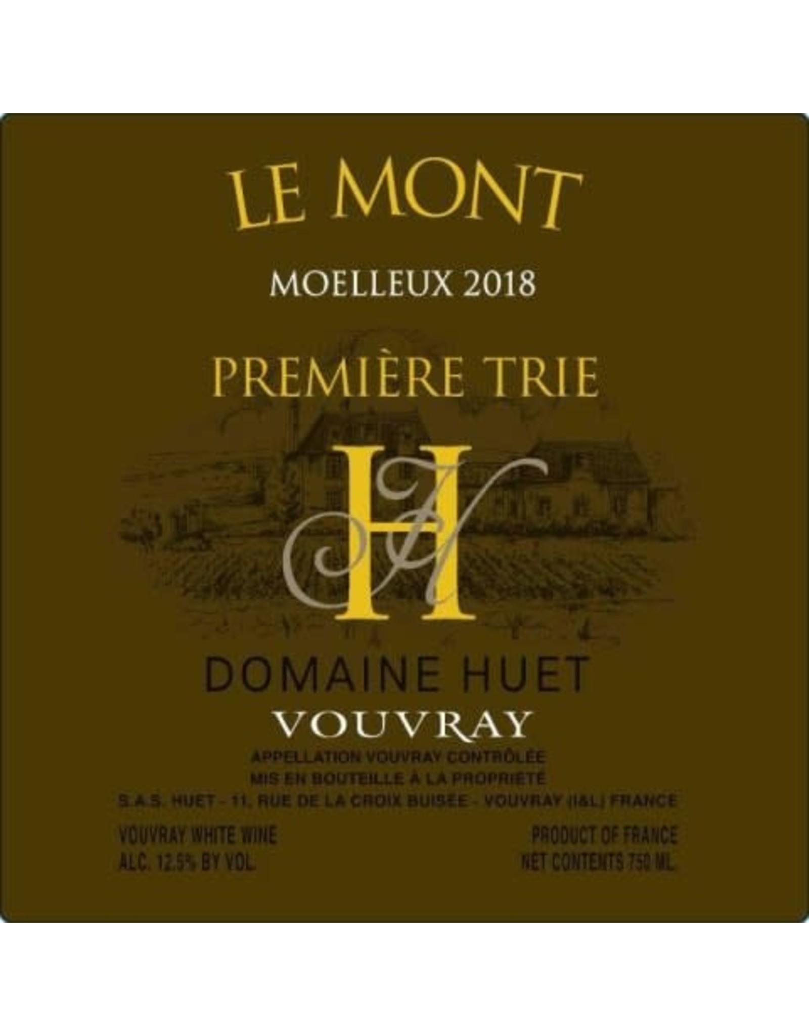 huet Huet Moelleux Premier Trie Le Mont Vouvray 2018