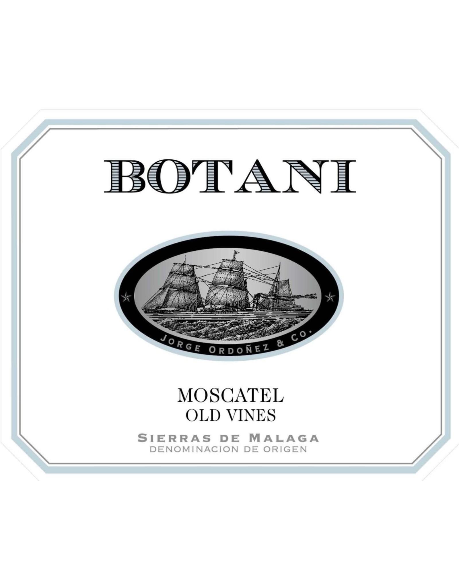 Jorge Ordóñez Botani Old Vine Moscatel, Sierras de Malaga 2017