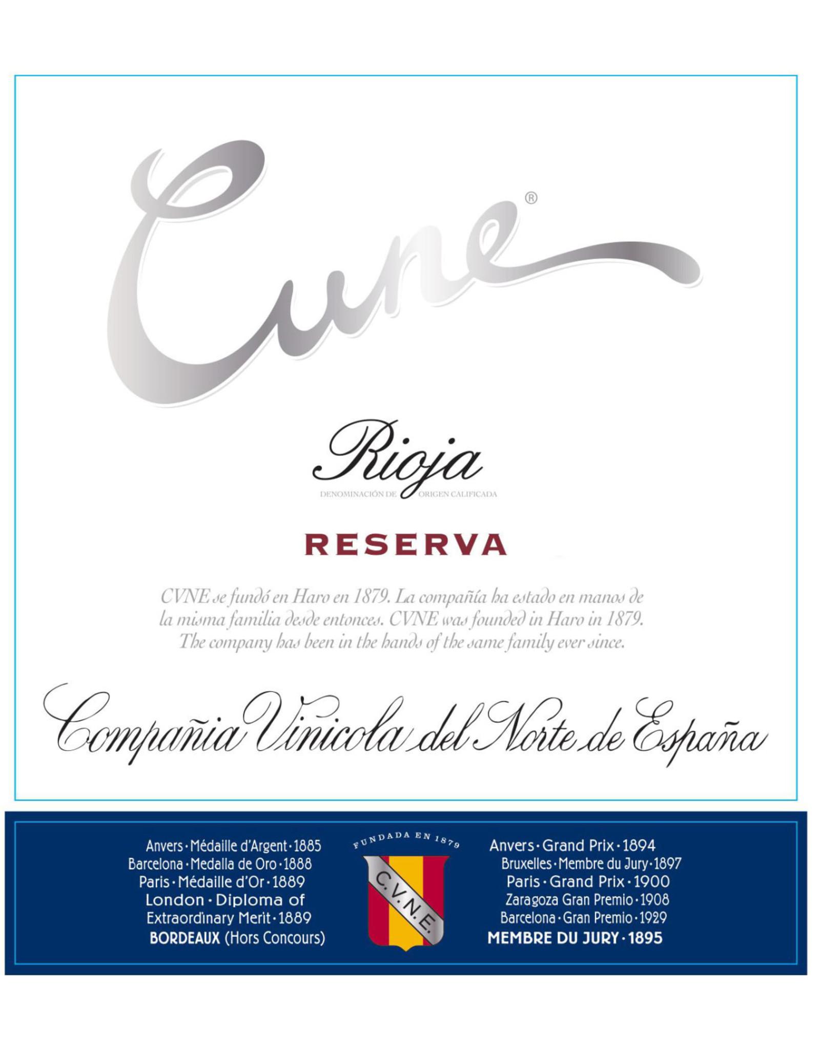 Cune Cune Rioja Reserva 2015