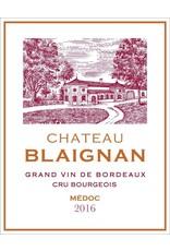 Chateau Blaignan Chateau Blaignan, Medoc Cru Bourgeois 2016