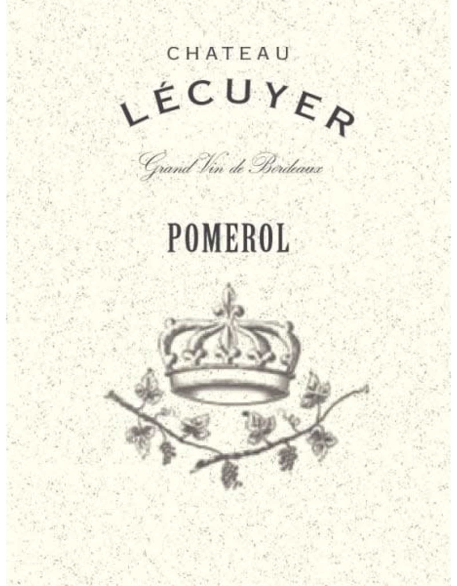 Chateau Lécuyer, Pomerol 2018