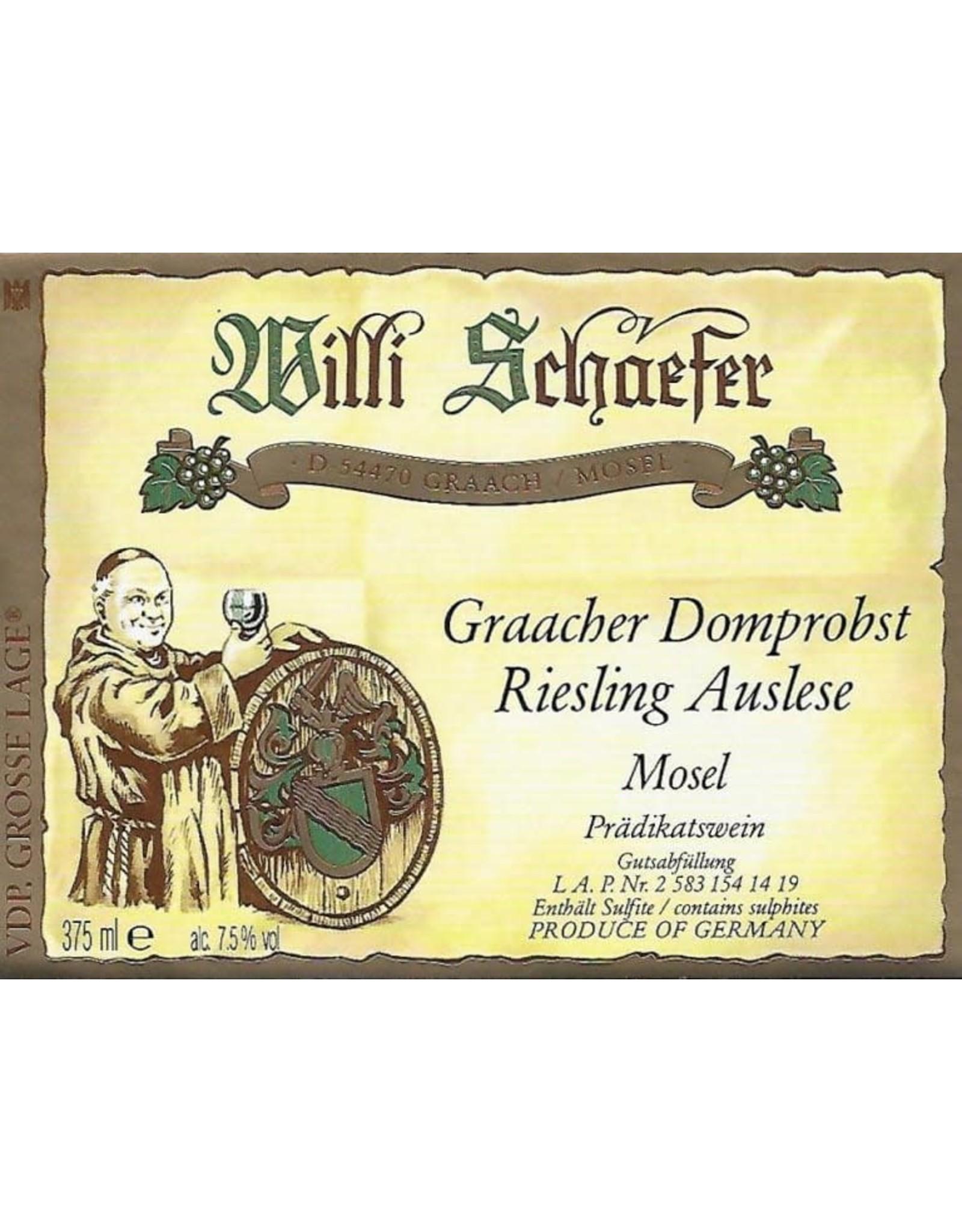 Willi Schaefer Willi Schaefer Graacher Domprobst Riesling Auslese, Mosel 2019 375ml