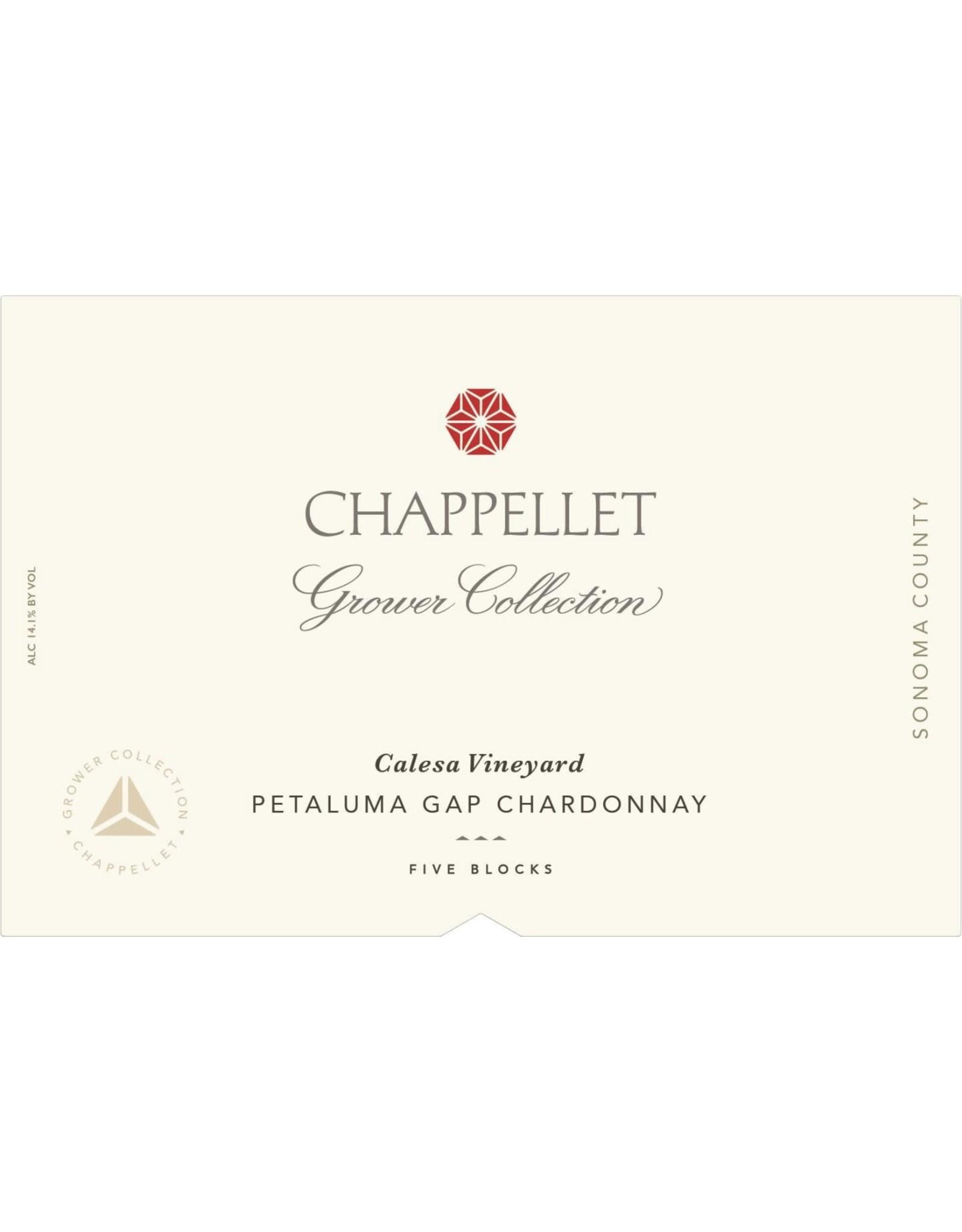Chappellet Chappellet Chardonnay Calesa, Petaluma Gap 2018