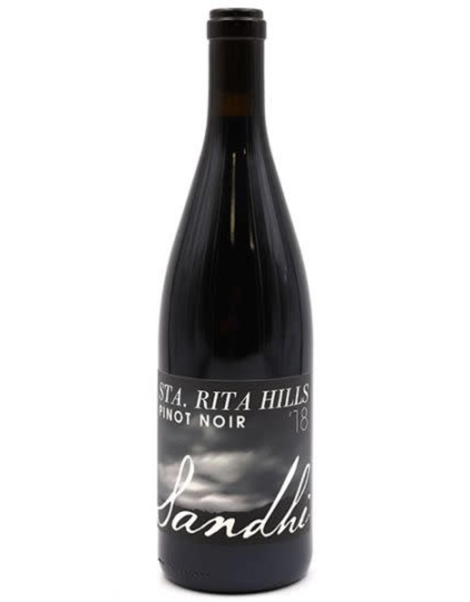 Sandhi Sandhi Pinot Noir, Sta. Rita Hills 2018
