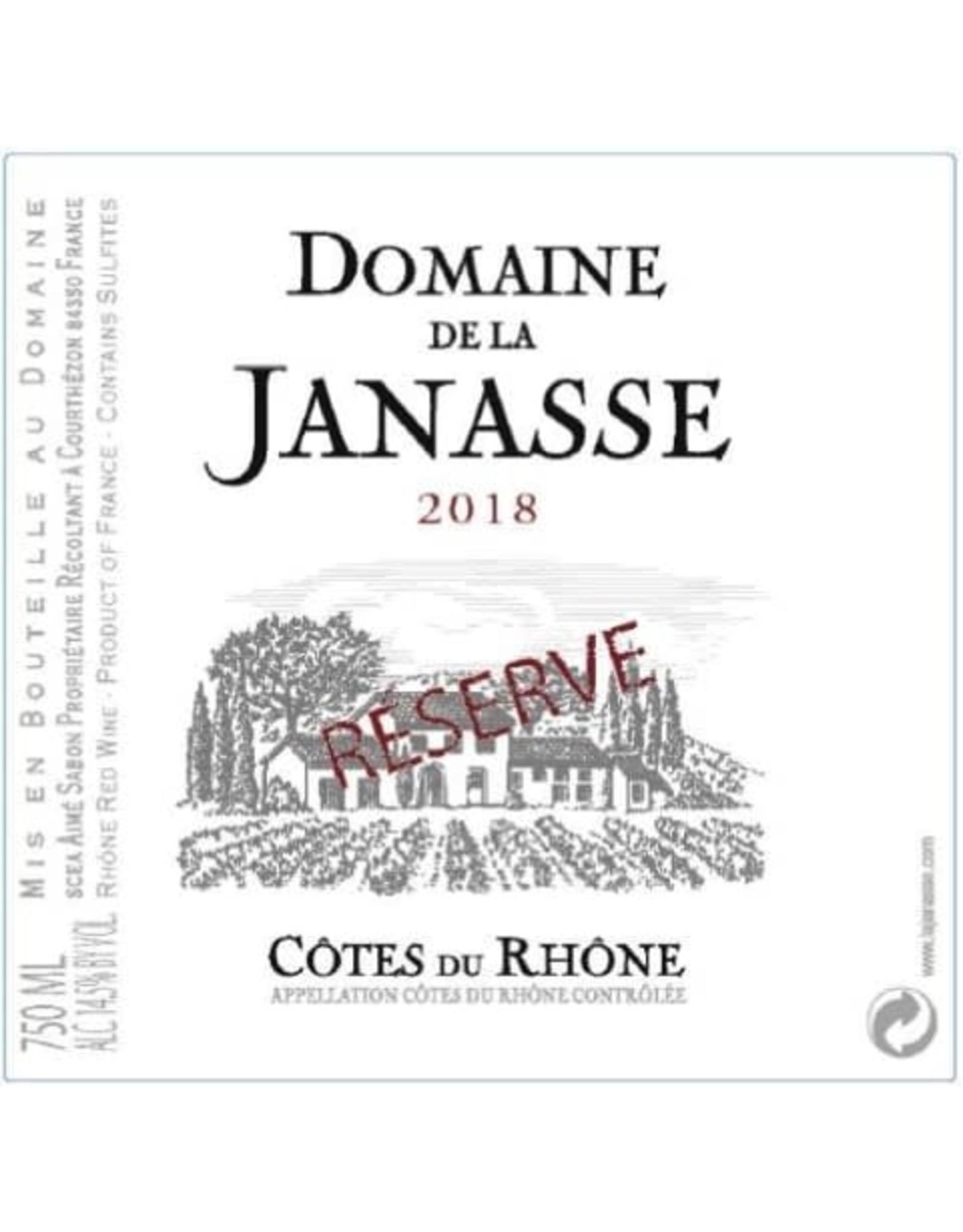 Domaine Janasse Domaine de Janasse Cotes du Rhone Reserve 2018