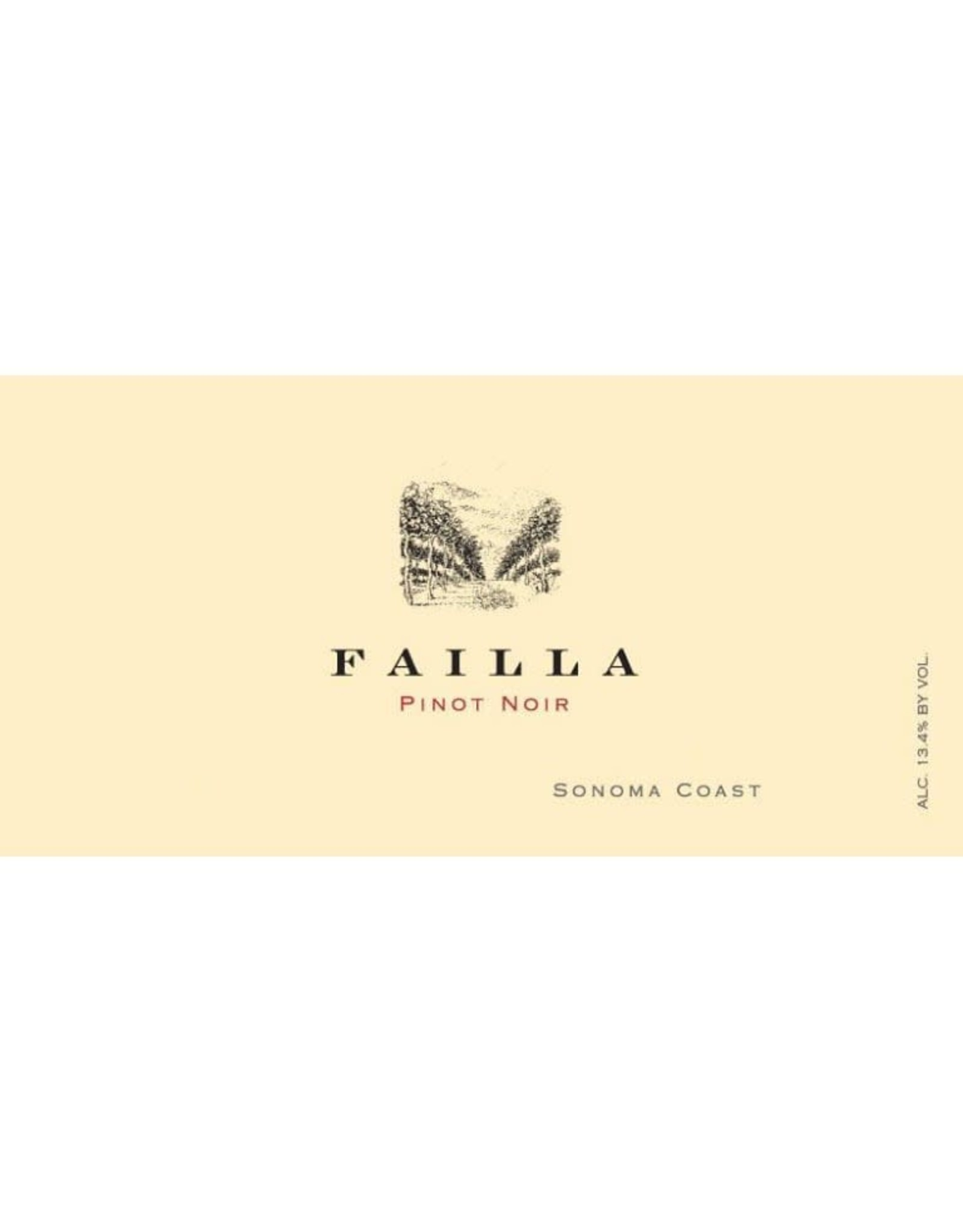 Faila Failla Pinot Noir, Sonoma Coast 2018