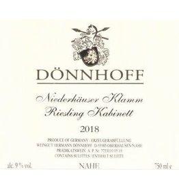 Donnhoff Donnhoff Niederhauser Klamm Riesling Kabinett, Nahe 2018