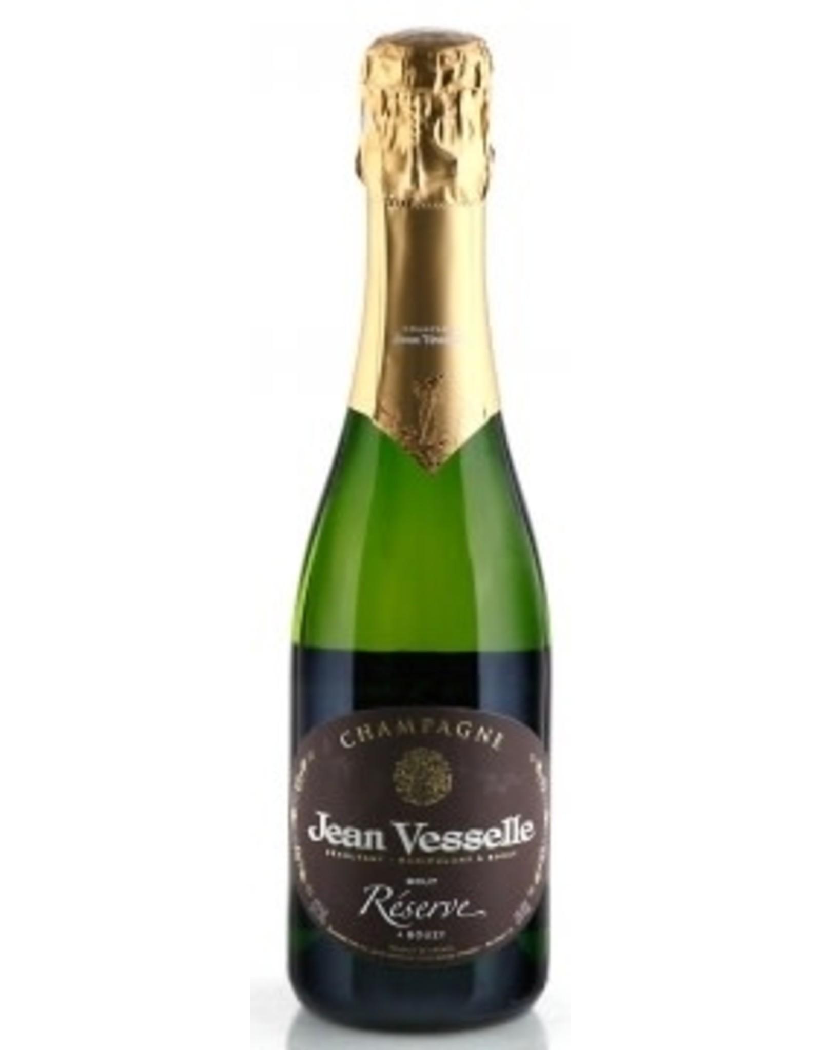 Jean Vesselle Champagne Jean Vesselle Brut Reserve, Bouzy NV 375ml