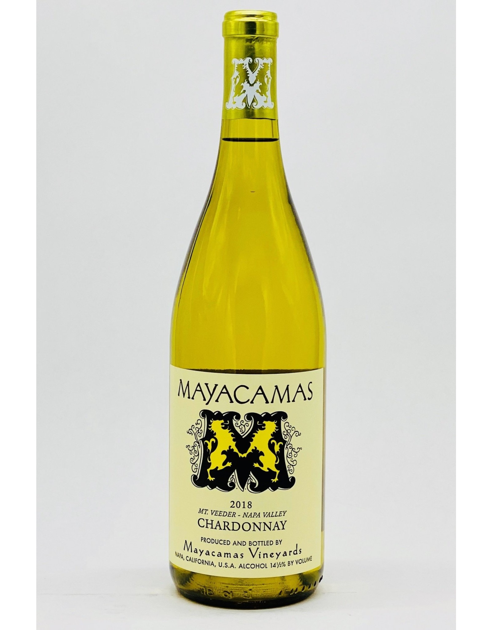 Mayacamas Mayacamas Chardonnay, Mt. Veeder 2018