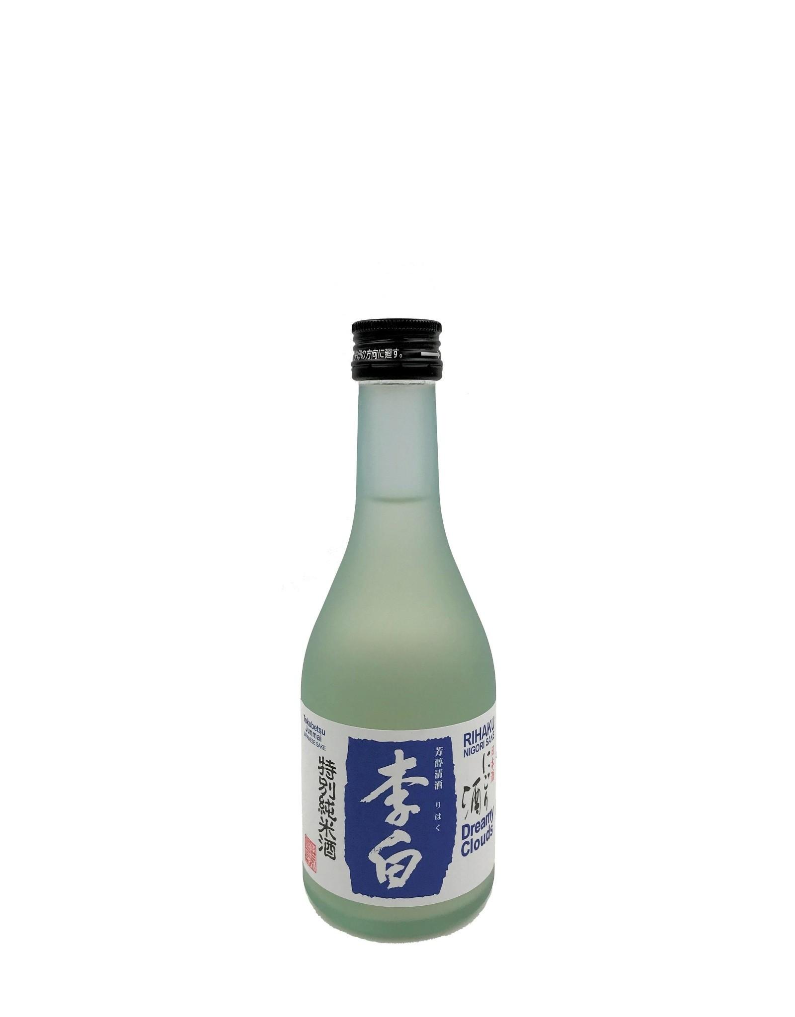 Rihaku Rihaku Tokubetsu Dreamy Clouds Junmai Nigori Sake 300ml