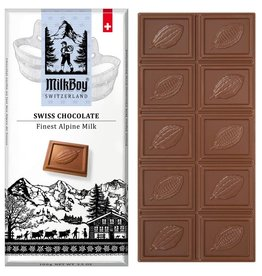 Milk Boy MilkBoy Finest Alpine Milk Chocolate, 3.5oz