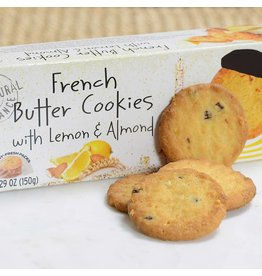 Pierre Biscuiterie Pierre Biscuiterie French Butter Cookies with Almond & Lemon