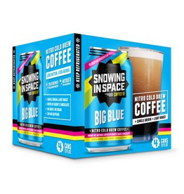 Snowing in Space Snowing in Space Nitro Cold Brew Big Blue Light Roast 4 Pack
