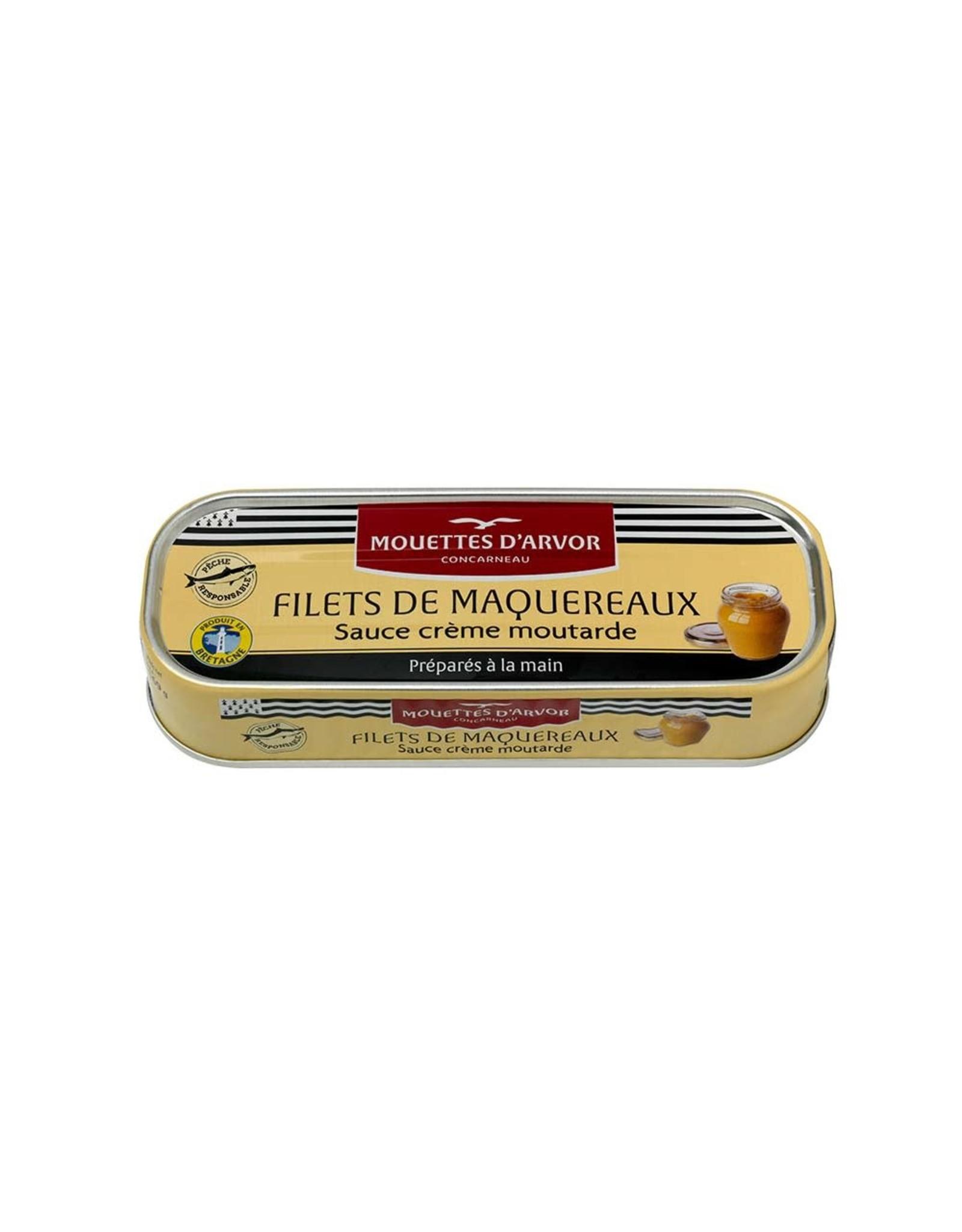 Mouettes d'arvor Mouettes d'arvor Mackerel Filets in Mustard & Creme Fraiche