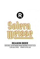 Reason Reason Beer Solera Weisse