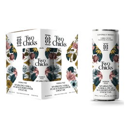 Two Chicks Two Chicks Sparkling Vodka Fizz 4 Pack