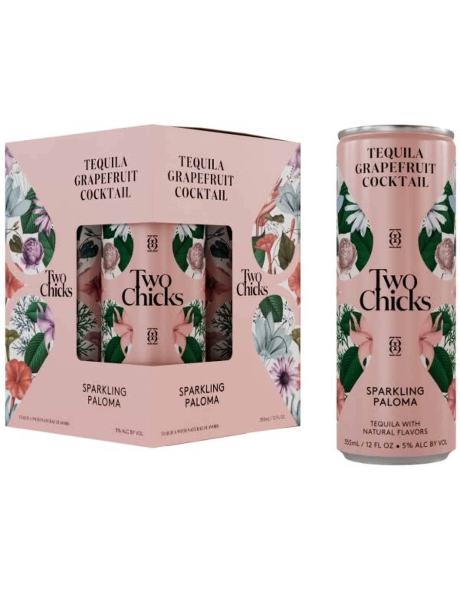 Two Chicks Two Chicks Sparkling Paloma 4 Pack