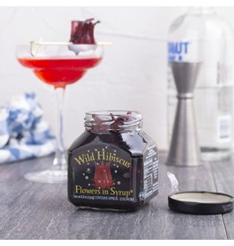 Wild Hibiscus Flower Co. Wild Hibiscus Flowers in Syrup