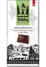 Milk Boy MilkBoy Cocoa & Mint Swiss Chocolate 3.5 oz.