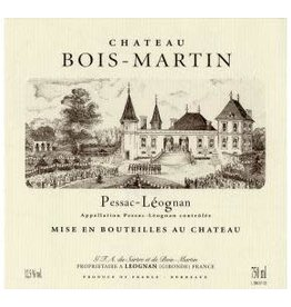Chateau Bois-Martin Chateau Bois-Martin, Pessac-Leognan 2016