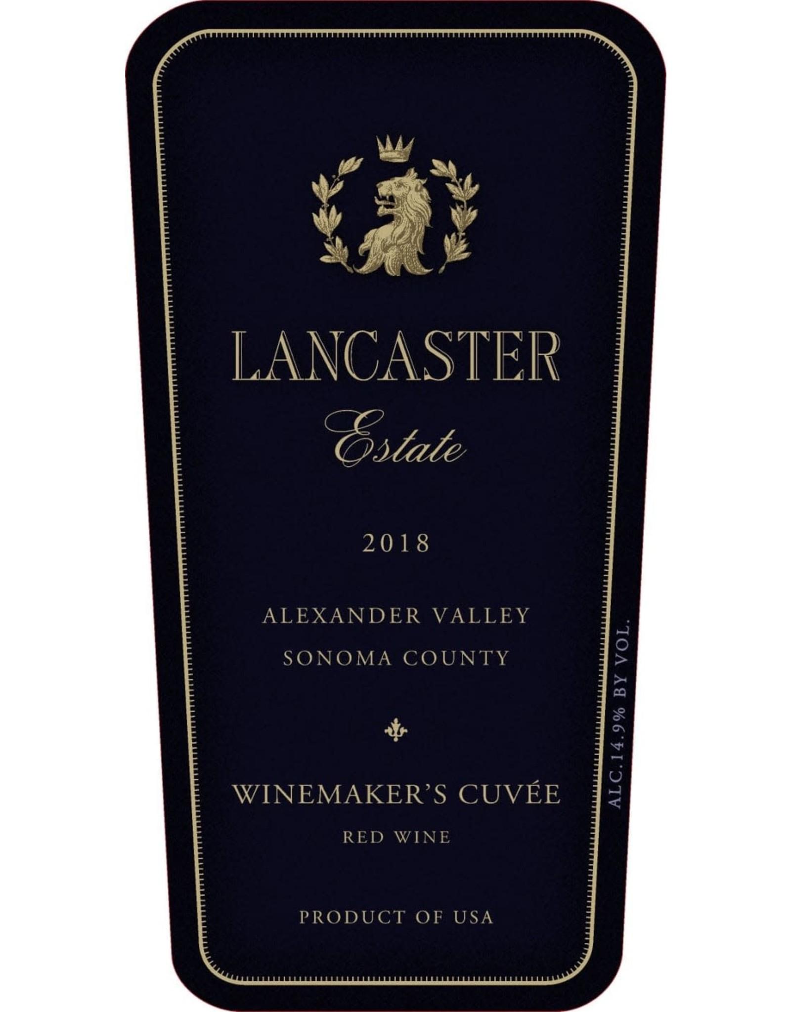 Lancaster Estate Lancaster Estate Winemakers Cuvee, Alexander Valley 2017