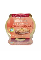 Mouettes d'arvor Mouettes d'Arvor Rillettes de Salmon with Lemon & Dill