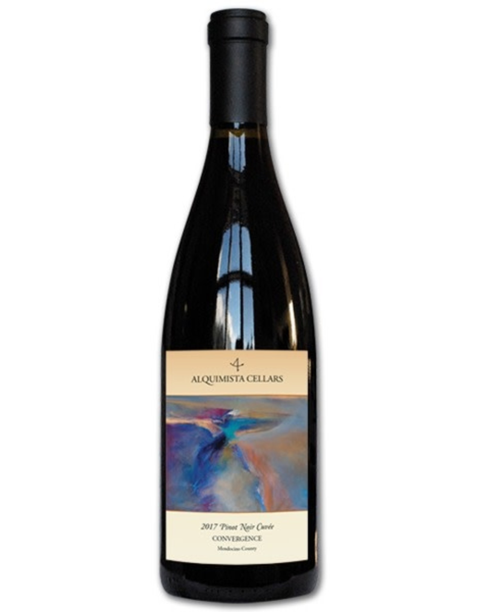Alquimista Alquimista Cellars Convergence Pinot Noir Cuvee, Mendocino County 2017