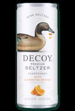 Decoy Decoy Premium Seltzer, Chardonnay with Clementine Orange