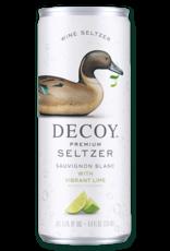 Decoy Decoy Premium Seltzer, Sauvignon Blanc with Vibrant Lime