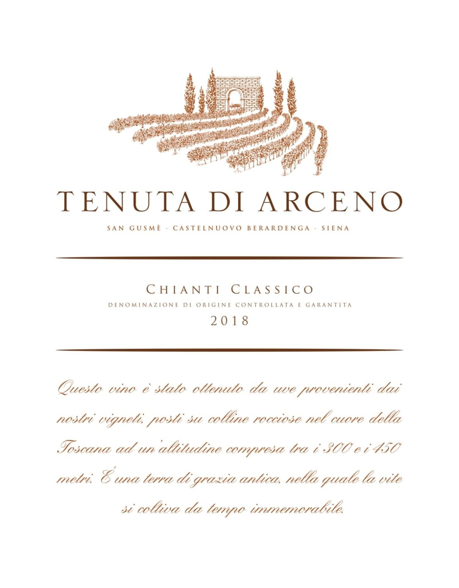 Tenuta di Arceno Tenuta di Arceno Chianti Classico, Tuscany 2018