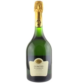 Taittinger Champagne Tatittinger Grand Cru Blanc de Blancs Comptes de Champagne 2007