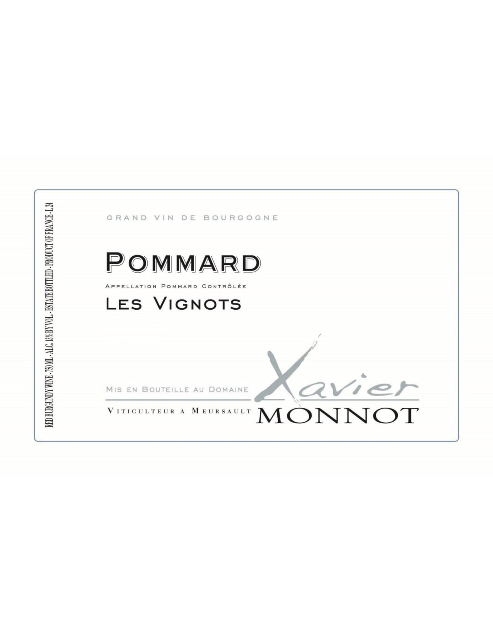 Xavier Monnot Xavier Monnot Pommard Les Vignots 2017